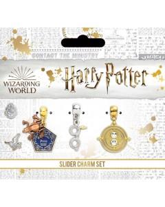 Harry Potter - Set 3 breloques Retourneur, Chocogrenouille, Lunettes