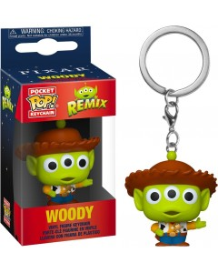 Disney Pixar - Pop! Pocket - Alien Remix - porte-clé Woody