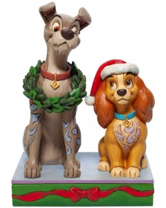 "Disney - Traditions - Lady and the Tramp Christmas ""Decked Out Dogs"""