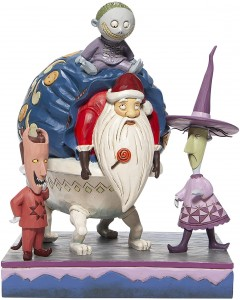 "Nightmare Before Christmas - Traditions - Lock, Shock & Barrel w/Santa ""Bagged and Delivered"""