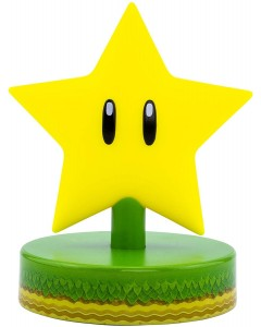 Super Mario - Lampe veilleuse super Star