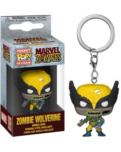 Marvel Zombies - Pop! Pocket - porte-clé Zombie Wolverine