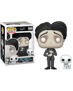 Corpse Bride - Pop! Movies - Victor with Scraps n°986