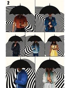 The Umbrella Academy - grand poster Family (61 x 91,5 cm)