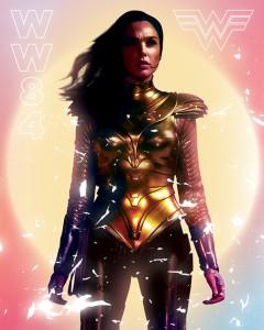 Wonder Woman 1984 - Poster sur toile 40 x 50 cm