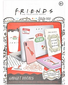 Friends - Set de gadget decals (stickers)