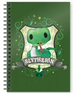 Harry Potter - Carnet A5 spirales Slytherin