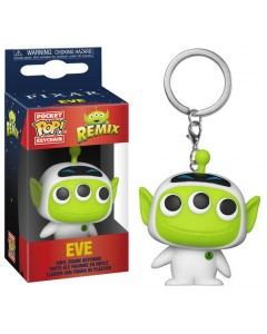 Disney Pixar - Pop! Pocket - Alien Remix - porte-clé Eve