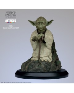 Star Wars - Attakus Elite - Statue Yoda Using the force