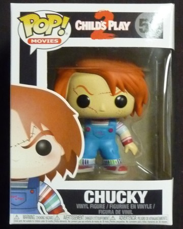 Child's Play - Pop! Movies - Chucky BOITE ABIMEE
