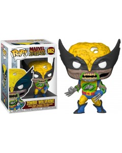 Marvel Zombies - Pop! - Zombie Wolverine n°662