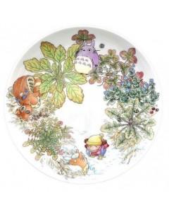 Mon voisin Totoro - Assiette porcelaine 23 cm