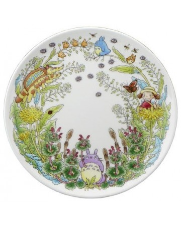 Mon voisin Totoro - Assiette porcelaine 23 cm Pissenlits