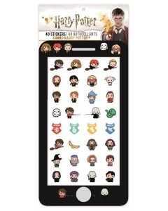 Harry Potter - Set de 40 stickers Kawaii