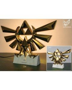 The Legend of Zelda - Grande lampe veilleuse Hyrule Crest