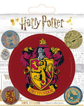 Harry Potter - set de stickers Gryffindor