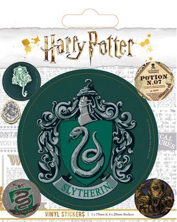 Harry Potter - set de stickers Slytherin