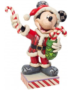 "Disney - Traditions - Santa Mickey with Candy Canes ""Peppermint Surprise"""