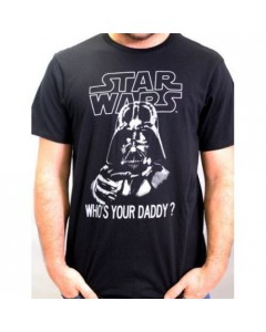 Star Wars - T-Shirt Vader Daddy (black)