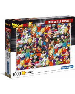 Dragon Ball Z - Puzzle Impossible 1000 pièces