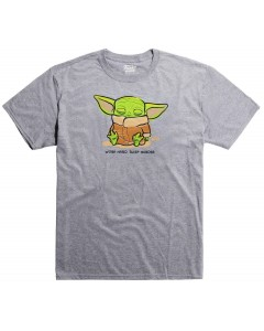 Star Wars : The Mandalorian - Pop! T-Shirt - T-Shirt Cute Child Sleeping - Femme