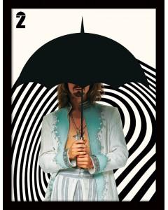 The Umbrella Academy - Poster encadré Klaus 30 x 40 cm