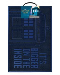 Doctor Who - Paillasson tapis caoutchouc Tardis