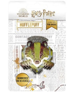 Harry Potter - Pins collector Hufflepuff 9995 exemplaires