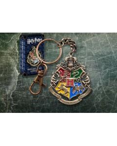 Harry Potter - Porte-clé métal Hogwarts Crest