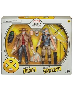 Marvel Legends - Figurines Old Man Logan & Hawkeye