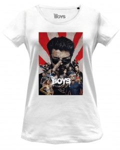 The Boys - T-Shirt Saison 2 blanc - Femme