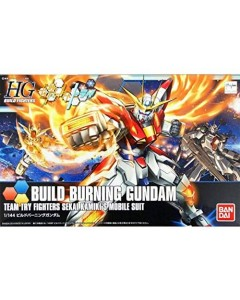 Gundam - HGBF 1/144 Build Burning Gundam Sekai Kamiki