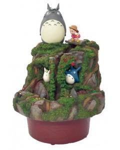 Mon Voisin Totoro - Figurine diorama Mei & Totoro Jardin d'Eau
