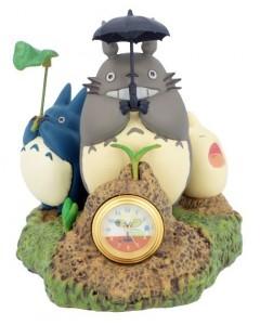 Mon Voisin Totoro - Figurine diorama Horloge Dondoko Dance