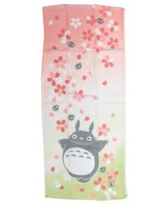 Mon voisin Totoro - Serviette gaze Sakura 34 x 80 cm