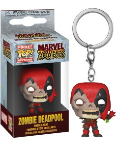 Marvel Zombies - Pop! Pocket - porte-clé Zombie Deadpool