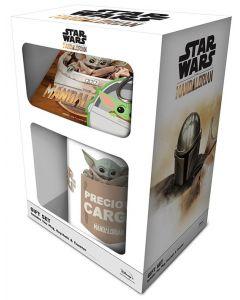 Star Wars : The Mandalorian - Set Mug + sous-verre + porte-clé The Child