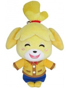 Animal Crossing - Shizue Isabelle (souriant) 20cm