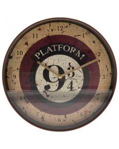 Harry Potter - Horloge murale Platform 9 3/4 Hogwarts Express