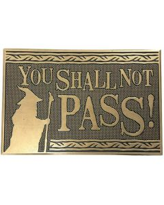 Lord of the Rings - Paillasson tapis caoutchouc You Shall Not Pass