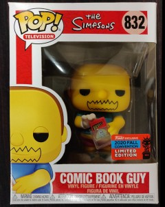 The Simpsons - Pop! - Comic Book Guy NYCC exclusive n°832