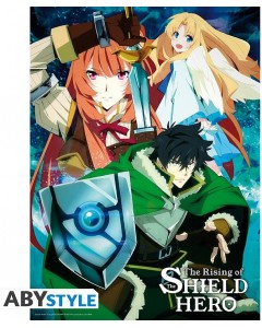 The Rising of the Shield Hero - Poster L'équipe de Naofumi 52 x 38 cm