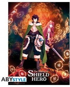 The Rising of the Shield Hero - Poster Naofumi & Raphtalia 52 x 38 cm