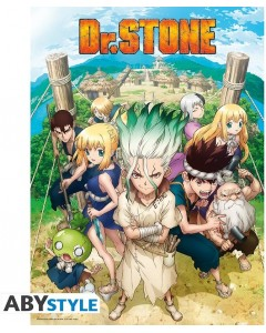 Dr Stone - Poster Groupe 52 x 38 cm