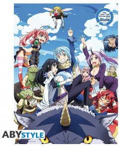That Time I Got Reincarnated as a Slime - Poster Groupe 52 x 38 cm