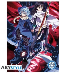 That Time I Got Reincarnated as a Slime - Poster Rimuru & Shizu 52 x 38 cm