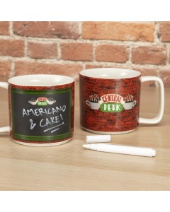 Friends - Mug Central Perk Tableau craie