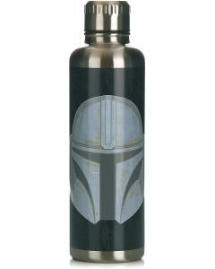 Star Wars : The Mandalorian - Gourde bouteille métallique Mando