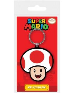 Super Mario - porte-clé PVC Toad