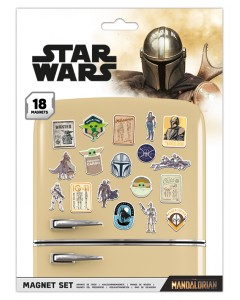 Star Wars : The Mandalorian - Set 18 aimants